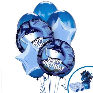Shark Party Balloon Bouquet