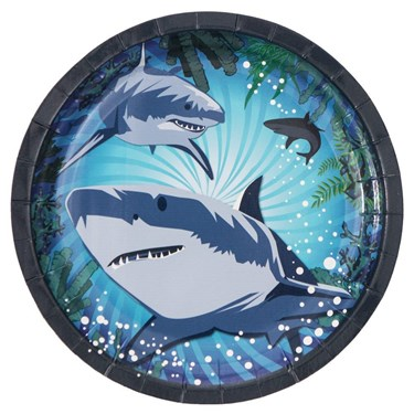 Shark Party Cake Plate (8)