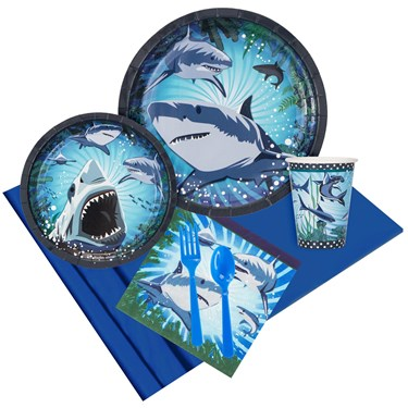 Shark Party Pack For 8