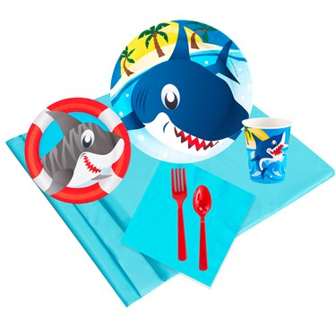 Sharks 16 Guest Party Pack