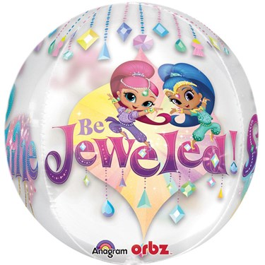 "Shimmer And Shine 16"" Orbz Balloon"