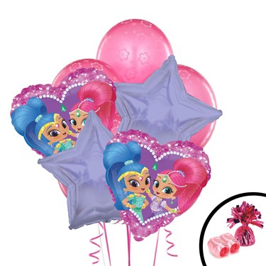 Shimmer and Shine Balloon Bouquet