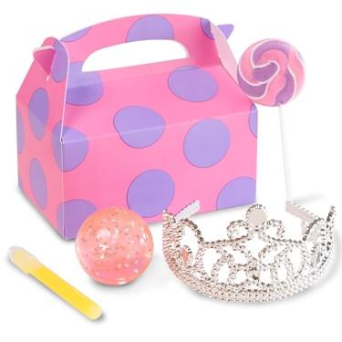 Purple & Pink Princess Filled Favor Box (4)
