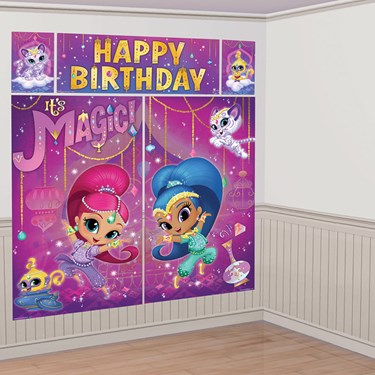 Shimmer and Shine Scene Setter Wall Decoration