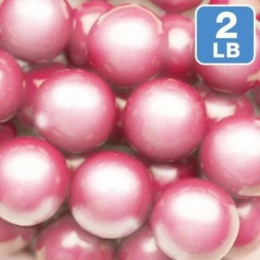 Shimmer Pink Gumballs 2lb (1)