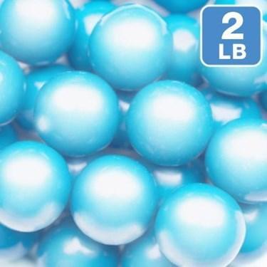 Shimmer Powder Blue Gumballs 2lb (1)