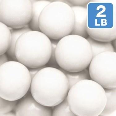 Shimmer White Gumballs 2lb (1)