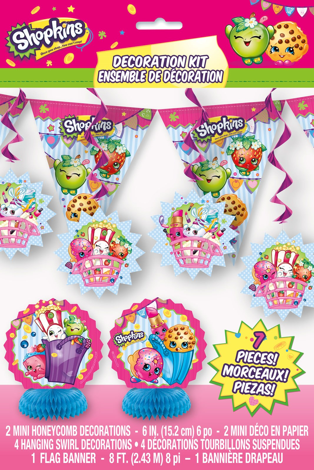 Shopkins decorating kit for Decoration kit
