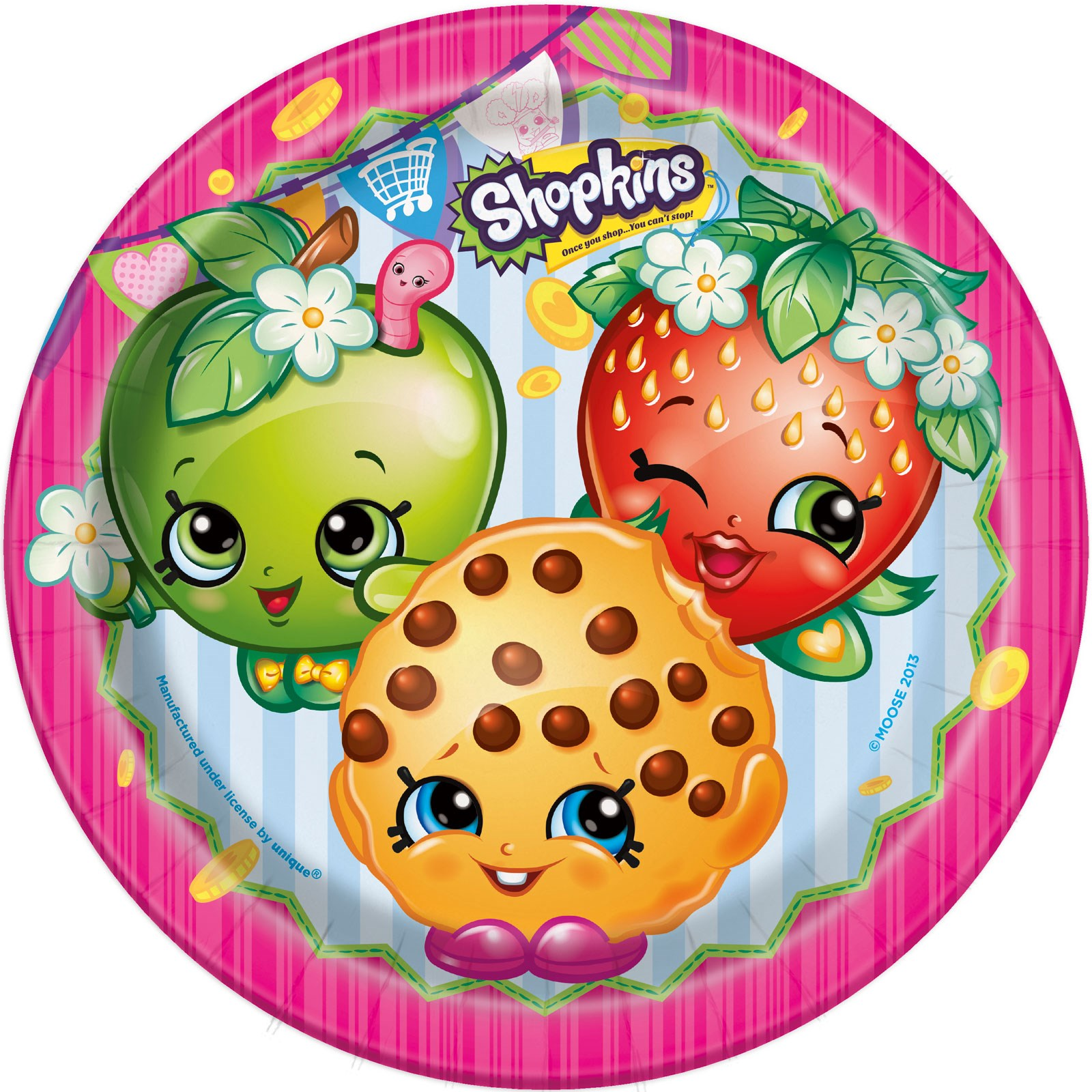 Shopkins Cake Topper Party City