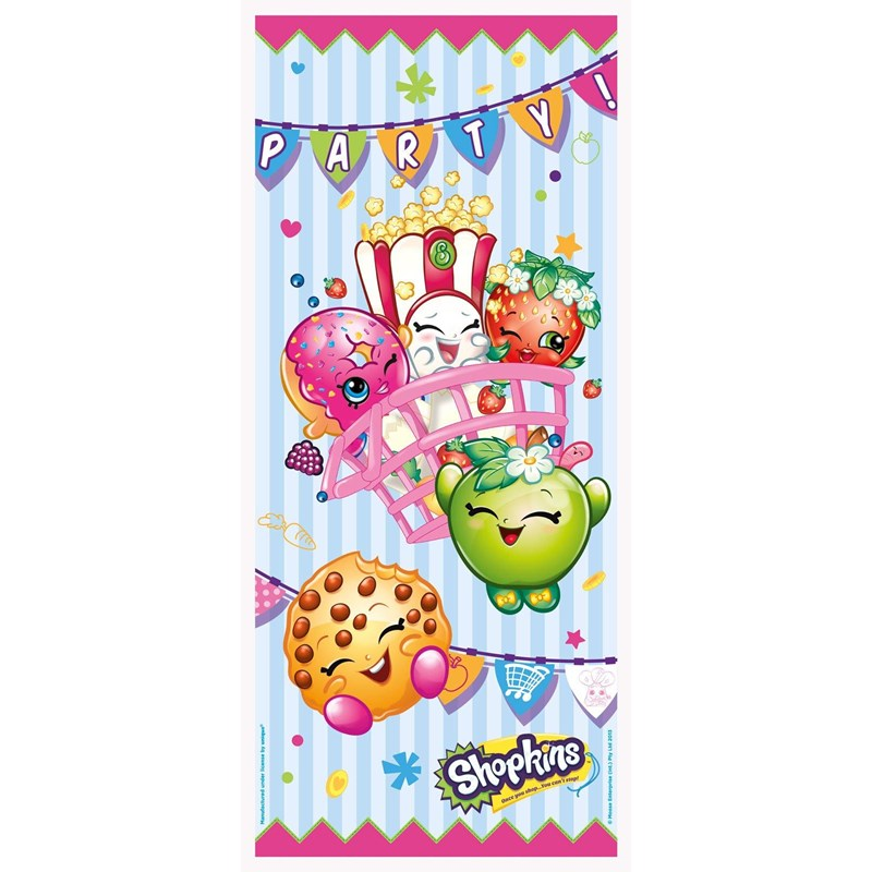 Shopkins Door Cover | BirthdayExpress.com