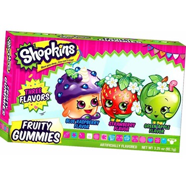 Shopkins Fruity Gummies(1)