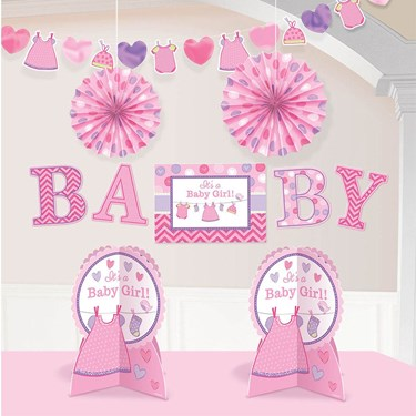Shower With Love Baby Girl Room Decoration