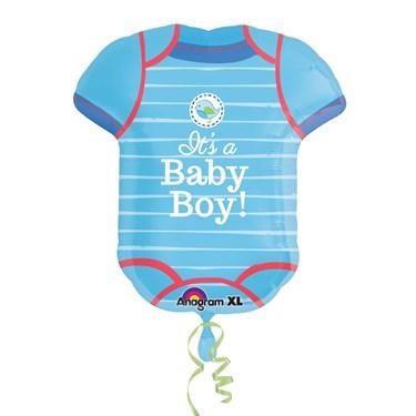 Shower With Love Boy Onesie Balloon