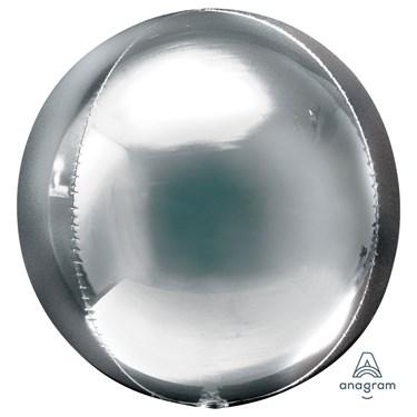 "Silver Foil Orbz (16"")"