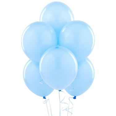Sky Blue Matte Balloons