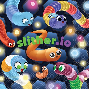 SLITHER.IO Lunch Napkin
