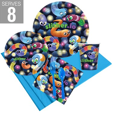 Slither.io Party Pack For 8