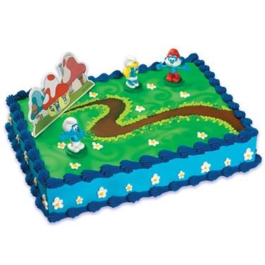 Smurfs Cake Topper
