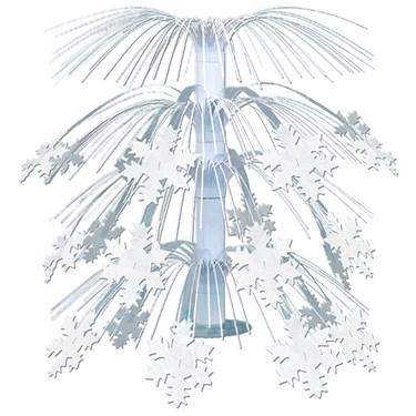 Snowflake Cascade Centerpiece