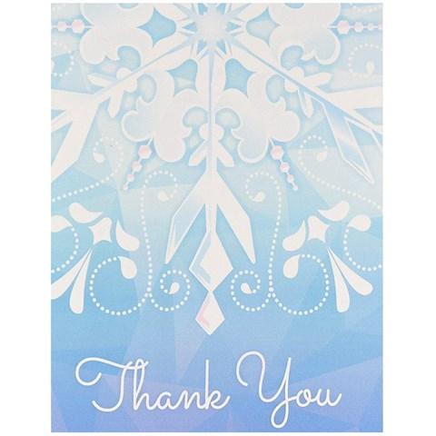 snowflake winter wonderland party supplies   birthdayexpress, Party invitations