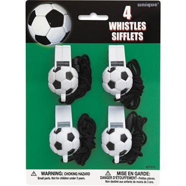 Soccer Ball Whistles(4)
