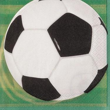 Soccer Beverage Napkins (16)