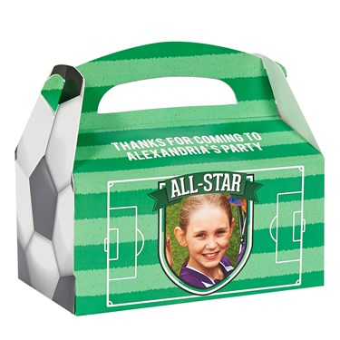 Soccer Personalized Empty Favor Boxes (8)