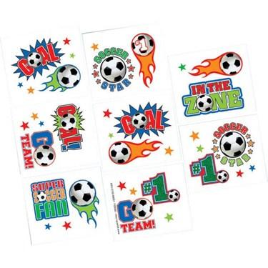Soccer Tattoo Favors (16)