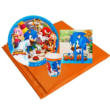 Sonic Boom 8 Guest Party Pack