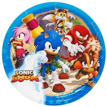 Sonic Boom Dinner Plates