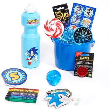 Sonic Filled Party Favor Bucket
