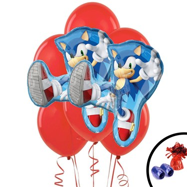 Sonic Jumbo Balloon Bouquet