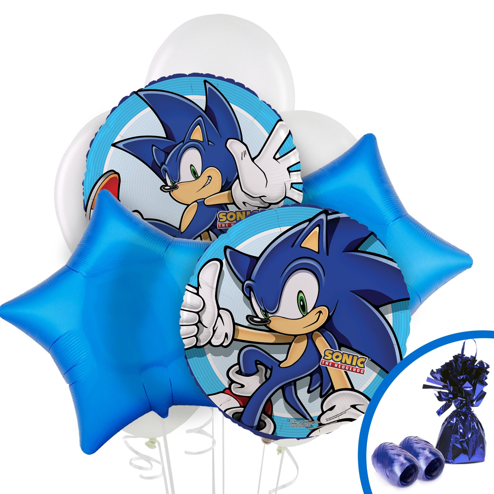 Blue Camouflage Party Decorations Sonic The Hedgehog Party Supplies Birthdayexpresscom