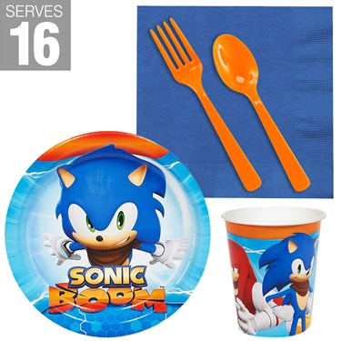 Sonic Boom Snack Pack for 16