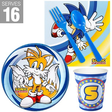 Sonic the Hedgehog Snack Party Pack for 16