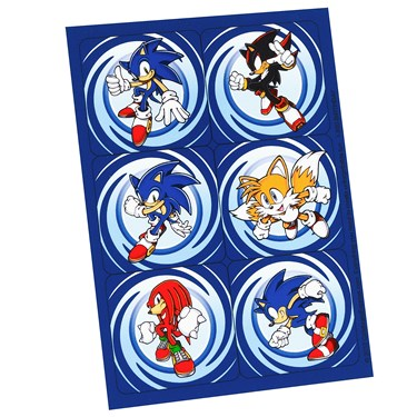 Sonic the Hedgehog Sticker Sheets