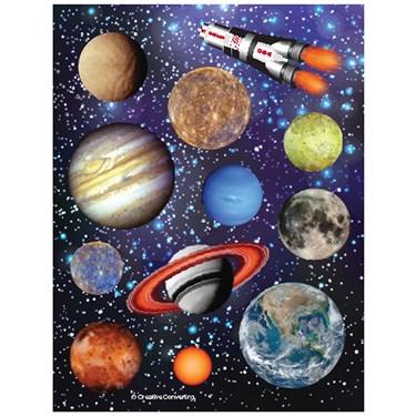 Space Blast - Sticker Sheet (4)