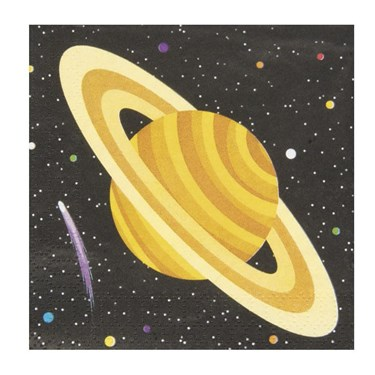 Space Party Beverage Napkins(16)