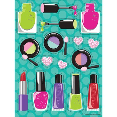 Sparkle Spa Party Value Sticker Pack(4)