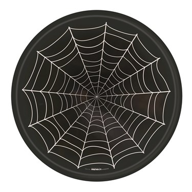 Spider Web Melamine Tray