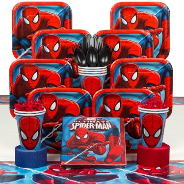 Spiderman 8 Guest Party Pack