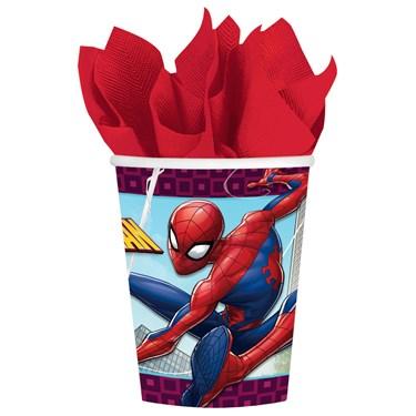 Spiderman Webbed Wonder 9oz. Cups