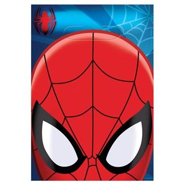 Spiderman Plastic Loot Bags (8)