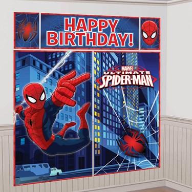 Spiderman Wall Decorating Kit (1)