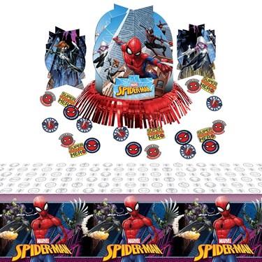 Spiderman Webbed Wonder Table Decoration Kit