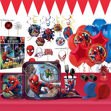 Spiderman Webbed Wonder Ultimate Tableware Kit (For 8 Guests)