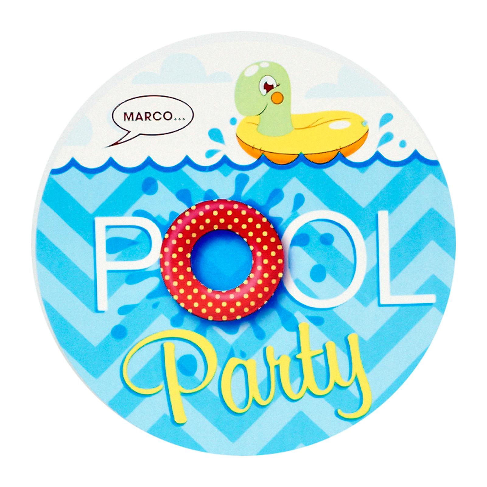 Splashin' Pool Party Invitations | BirthdayExpress.com