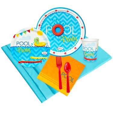 Splashin Pool Party Pack for 16