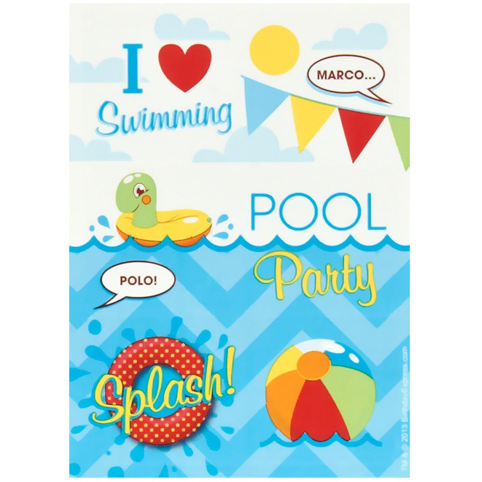 printable pool party invitations cloudinvitation com free – Swimming Party Invitation Template