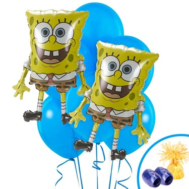 SpongeBob Jumbo Balloon Bouquet Kit